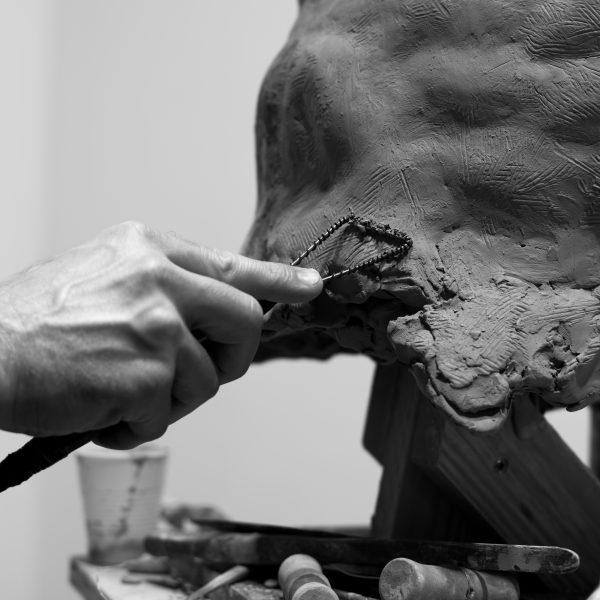 Brett Harvey Studio Process Detail