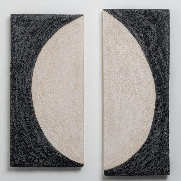 Shizue Imai - Black and White Half Moon I II