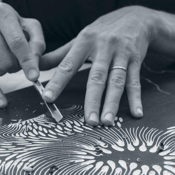 Zoe Ouvrier - Artist Process 1 Detail