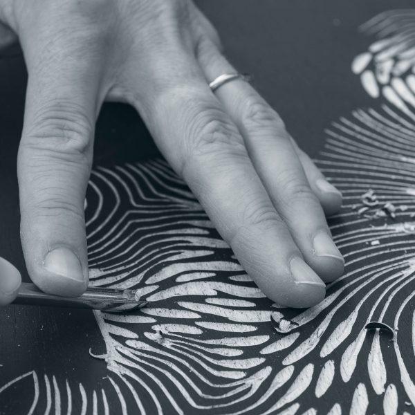Zoe Ouvrier - Artist Process 2 Detail