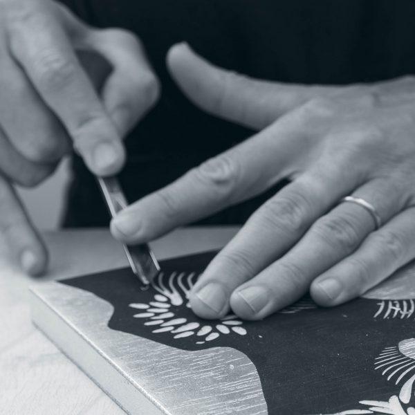 Zoe Ouvrier - Artist Process 3 Detail